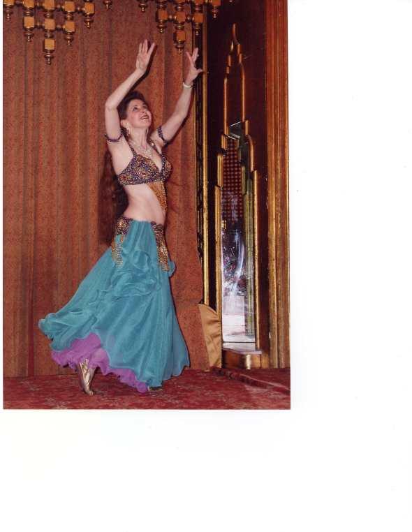 Oriental dance at Ahlan wa sahlan
