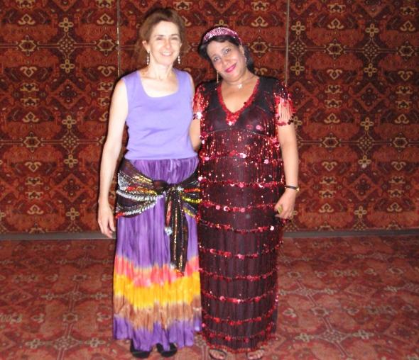 Karima Nadira with Khariyya Maazin